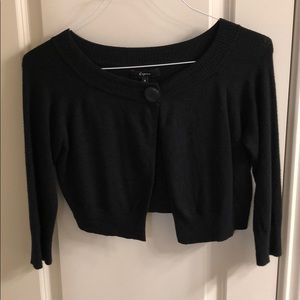 Express Crop cardigan